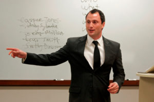 Florida Criminal Law Section Attorney teaching