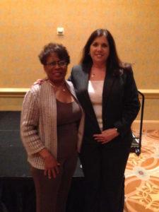 2 advocates at FLACLS reception