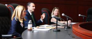 Advocates talking