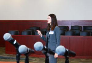 Presenting a case