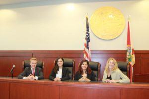 4 A Florida Bar Criminal Law Section attorneys with the Florida Seal