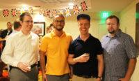 Florida Bar Gathering 4 men
