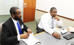 2 advocates at Florida Bar Criminal Law Section Education