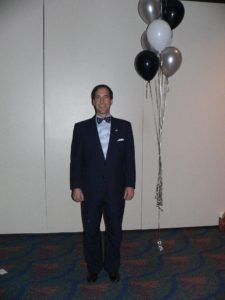 Lawyer standing at CLS 30th Anniversary Reception 2007