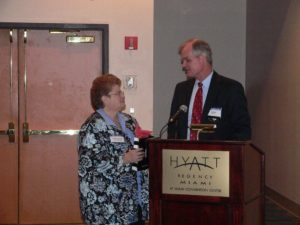 2 attorneys at CLS 30th Anniversary Reception 2007