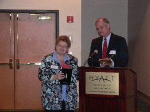 Award ceremony at CLS 30th Anniversary Reception 2007