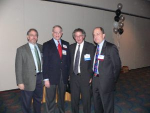 4 lawyers at CLS 30th Anniversary Reception 2007