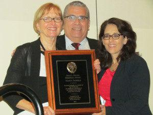 Group photo at award event
