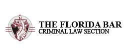 Florida Bar Criminal Law Section Logo long