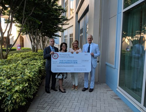 2018 Florida Bar Foundation Contribution Presentation