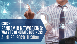 Pandemic Networking Event Invitation