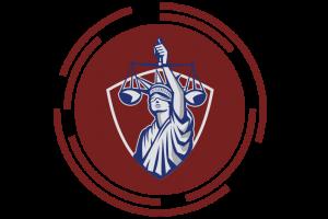 CONNECT Logo - criminal law, lady justice