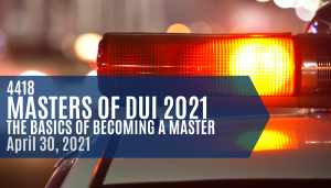 Masters of DUI
