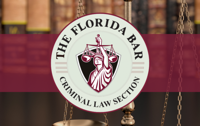 The Florida Bar Criminal Law Section